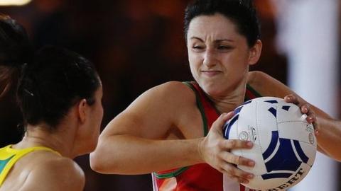 Wales netball captain Suzy Drane