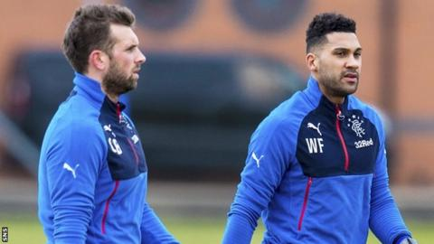 Cammy Bell and Wes Foderingham