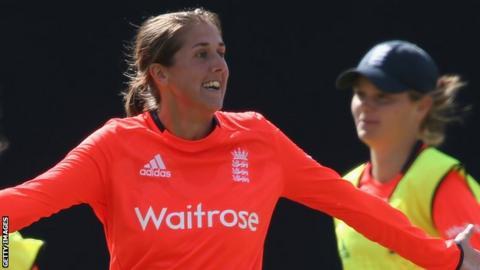 England all-rounder Jenny Gunn