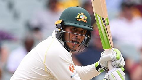 Australia batsman Usman Khawaja