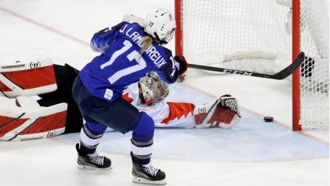Women's Ice Hockey - Canada v US