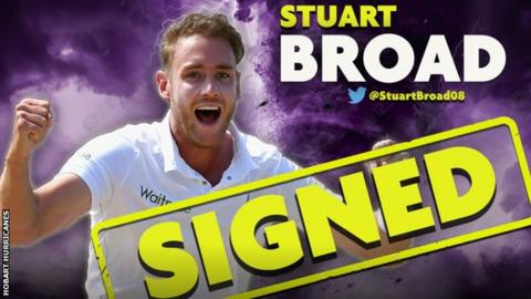 Hobart Hurricanes announced the signing on their website