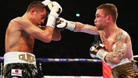Scott Quigg and Carl Frampton