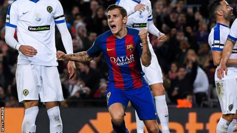 Lucas Digne: Everton sign full-back from Barcelona for £18m