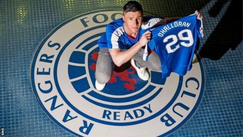 Rangers forward Michael O'Halloran
