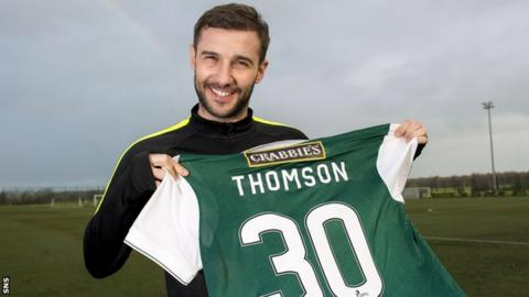 Hibernian player-coach Kevin Thomson