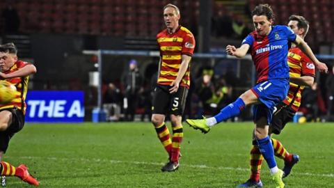 Partick Thistle 1-2 Inverness CT: Tom Walsh volley earns Inverness victory