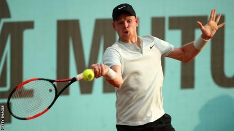 Kyle Edmund pulls off shock victory over Novak Djokovic in Madrid Open
