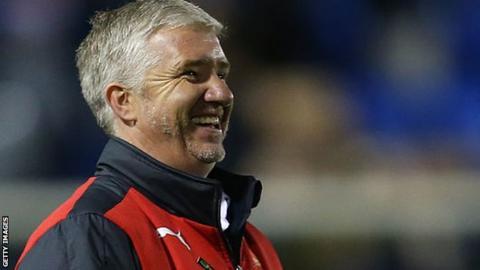 Leyton Orient director of football Martin Ling