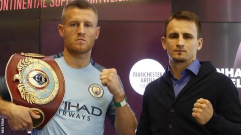Terry Flanagan (left) is unbeaten in 32 fights