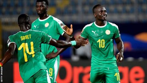 Image result for Sadio Mane scored twice as Senegal eased to a Group C