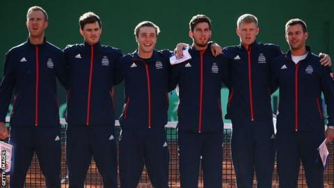 Davis Cup: Great Britain to face Uzbekistan in play-off
