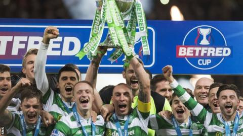 Celtic win the League Cup