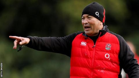 England coach Eddie Jones extends until 2021 - RFU