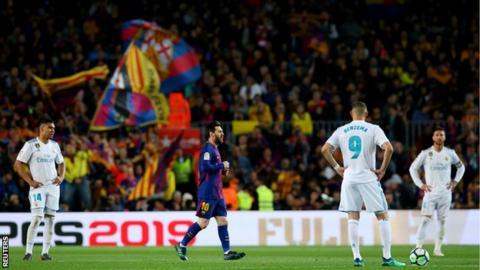 Barcelona 2-2 Real Madrid - BBC Sport