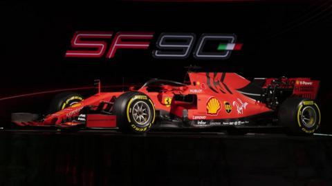 Ferrari launch the SF90 for 2019