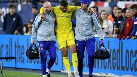 Image result for images of Ruben Loftus-Cheek could miss Europa League final after injuring ankle
