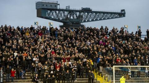 Attendances at Scottish football enjoyed a positive spike last season