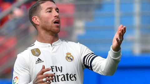 Sergio Ramos: Real Madrid say defender has never broken anti-doping rules