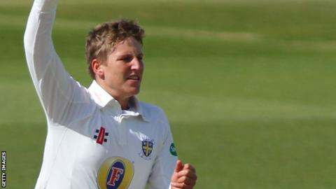 Brydon Carse's last first-class game for Durham was against Sussex in September 2017