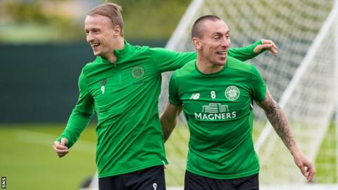 Leigh Griffiths and Scott Brown
