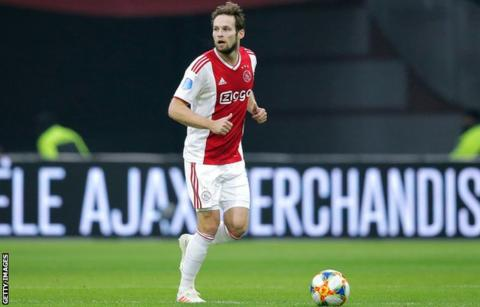 Blind Rejoined Ajax From Manchester United In The Summer