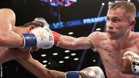 Leo Santa Cruz suffered his first defeat at the hands of Carl Frampton