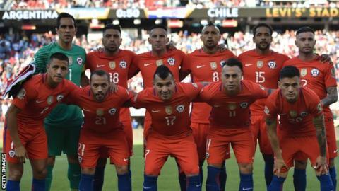 Chile team