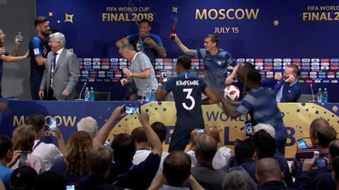 Deschamps Press Conference