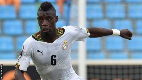 Ghana midfielder Afriyie Acquah