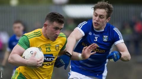 Donegal's Patrick McBrearty and Cavan's Padraig Faulkner will be in action in Sunday's Ulster Final