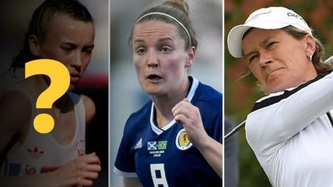 Liz McColgan, Kim Little, Catriona Matthew