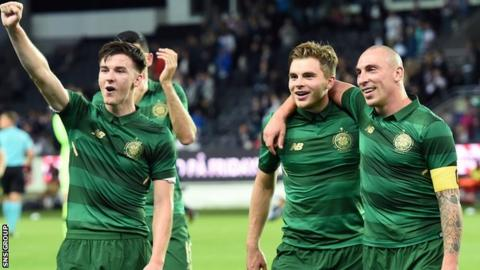 Kieran Tierney, James Forrest and Scott Brown are all Scotland squad regulars
