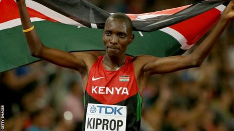 Asbel Kiprop: Former Olympic champion given four-year doping ban