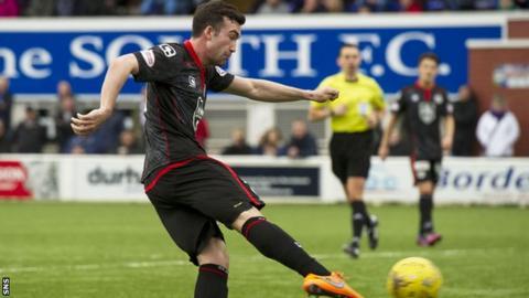 Stevie Mallan scores for St Mirren
