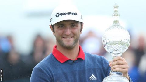 Jon Rahm won the Irish Open at Portstewart in 2017 and again at Lahinch this year