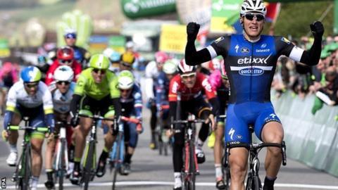 Germany's Marcel Kittel of team Etixx-Quick Step