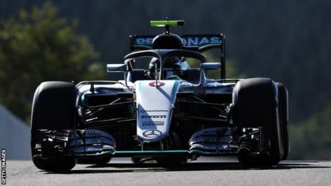 Mercedes F1 driver Nico Rosberg