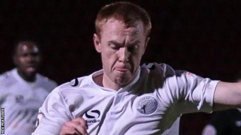 Gateshead striker Danny Johnson