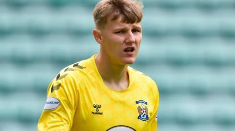 Kilmarnock goalkeeper Jake Eastwood