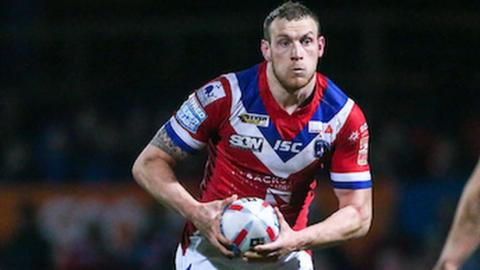 Wakefield Trinity's Dean Hadley scored two of his side's six tries at Belle Vue