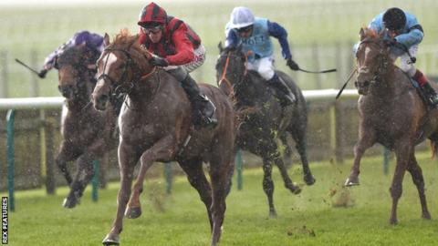 Stormy Antarctic races to victory at Newmarket