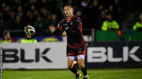Jason Tovey is Dragons record points scorer with 1,009 points in 178 games
