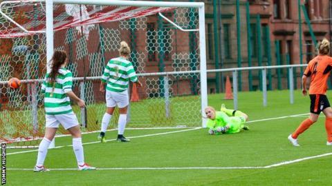 Noelle Murray's goal for Glasgow City
