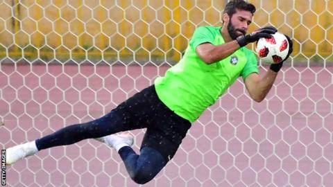Alisson is world class, says Liverpool boss Jurgen Klopp