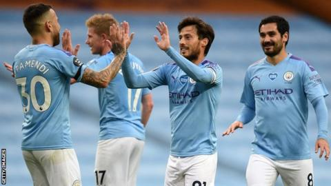 EPL: Sterling hat-trick help Man City defeat Brighton 5-0