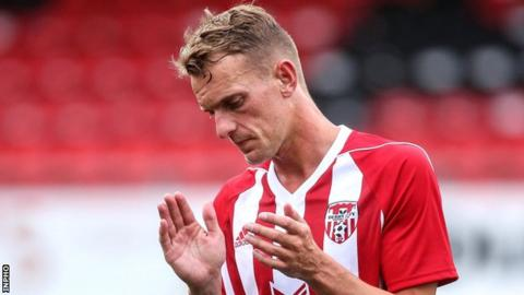Dean Shiels joined Derry City last summer when his father Kenny was in charge at the Brandywell