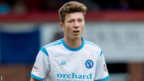 Forfar Athletic's Matthew Aitken