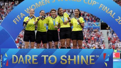 World Cup: Wexford referee Michelle O'Neill on 'dream' World Cup Final role