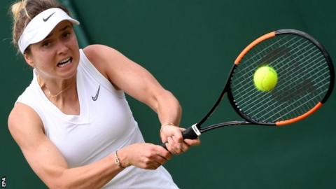 Halep beats Svitolina to reach Wimbledon final